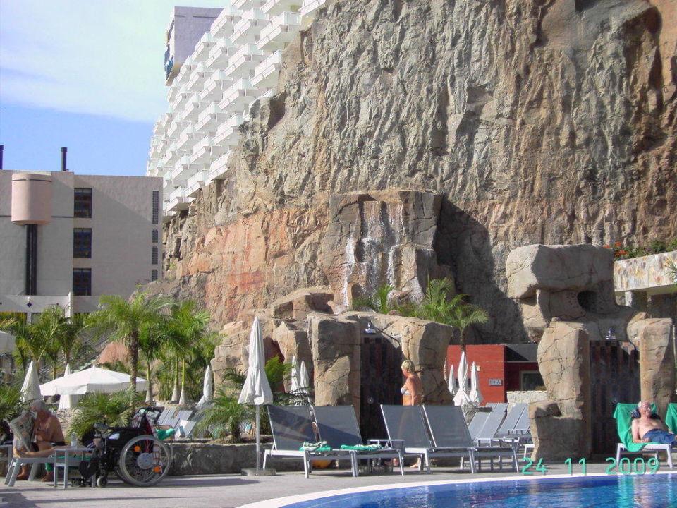Wasserfall Hotel Paradise Valle Taurito