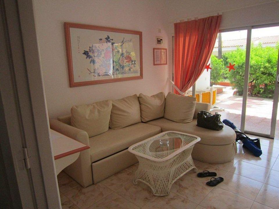 Sofa Wohnkuche Bungalowhotel Parque Paraiso I Playa Del Ingles
