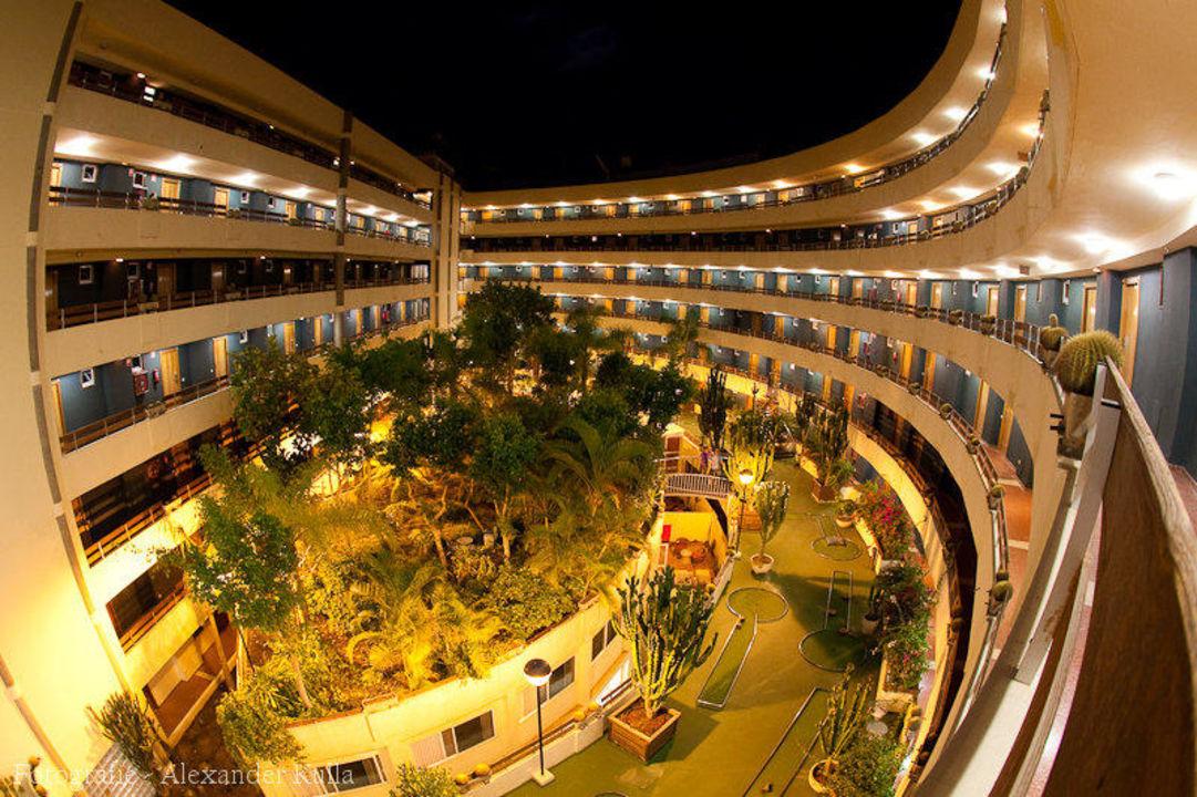 FKK Bereich auf der Dachterrasse Hotel Escorial