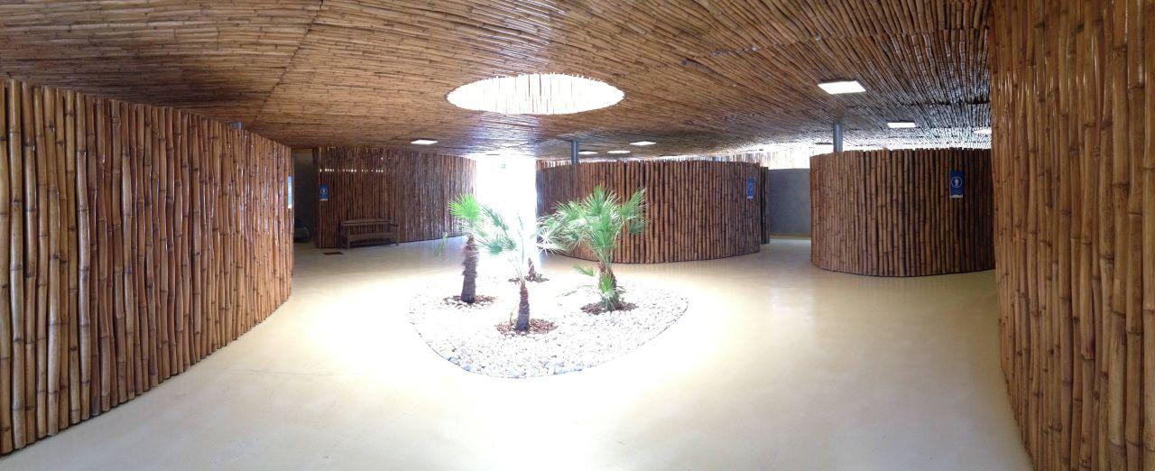 sanit rgeb ude innenraum camping area camping village. Black Bedroom Furniture Sets. Home Design Ideas