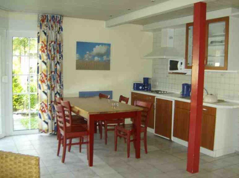 Esszimmer/Küche 6 Personen Ferienhaus Center Parcs Park Nordseeküste
