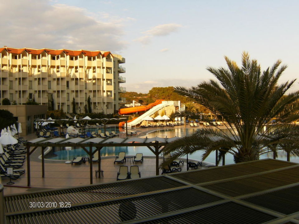 Blick vom Restaurant Arcanus Side Resort