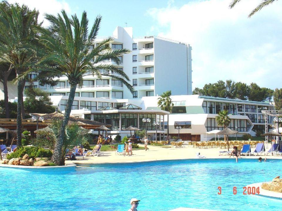 Pool mit Hotel und Hallenbad Hotel Exagon Park