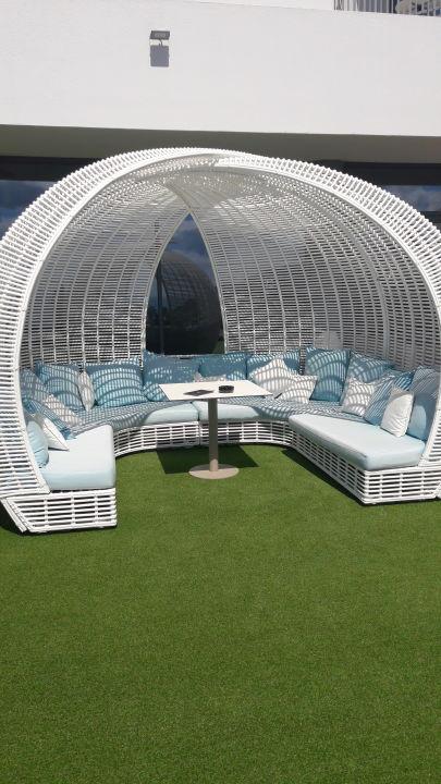 Gartenanlage Hotel Baia Azul