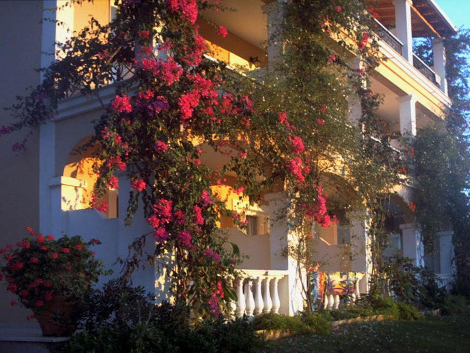 Abendlicht Hotel Nefeli