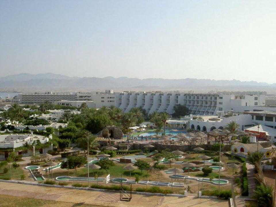 Blick aufs Hotel Shams Safaga Hotel Shams Safaga
