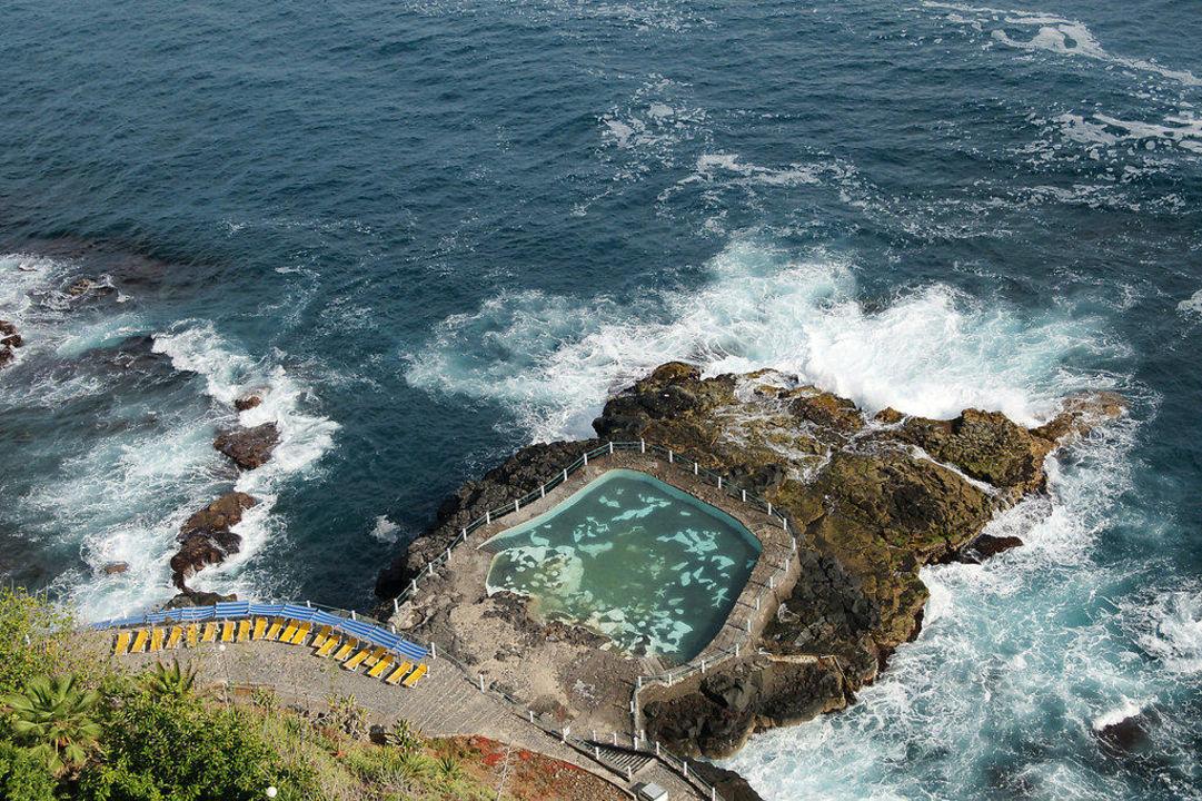 Meerwasser Pool Hotel Best Semiramis Puerto De La Cruz