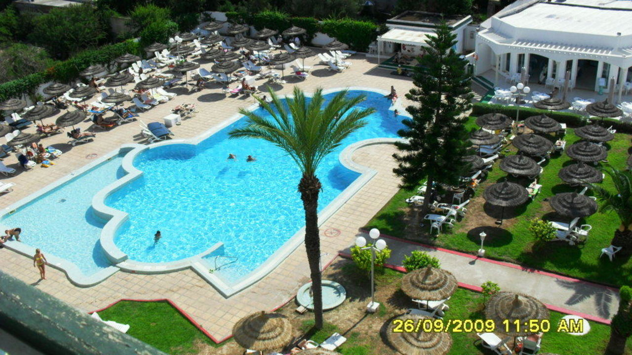 Ausblick von Zimmer 404 El Jinene Royal & Beach - Jinene Royal