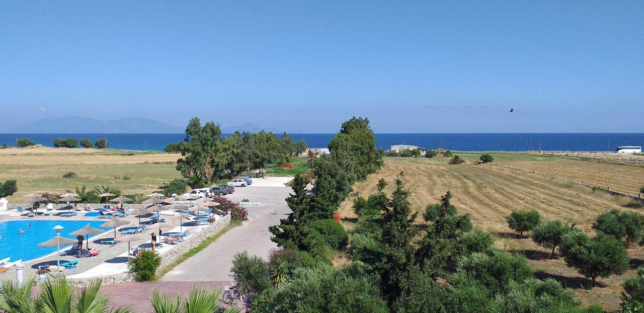 Ausblick Evripides Village