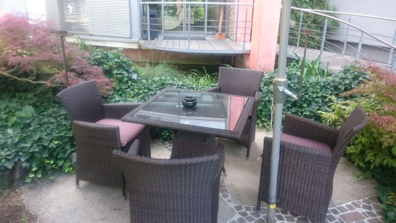Gartenanlage Hotel City Krone