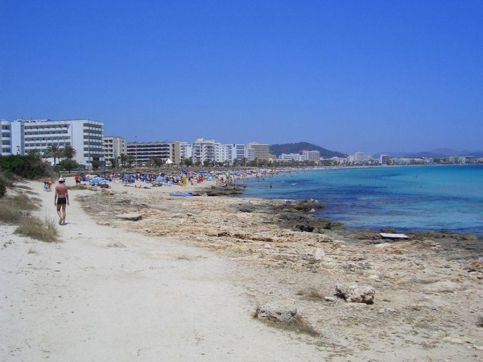 Strand von Cala Millor smartline La Santa Maria Hotel