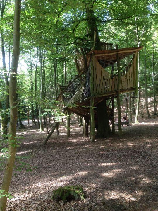baumhaus im wald center parcs park eifel in gunderath. Black Bedroom Furniture Sets. Home Design Ideas