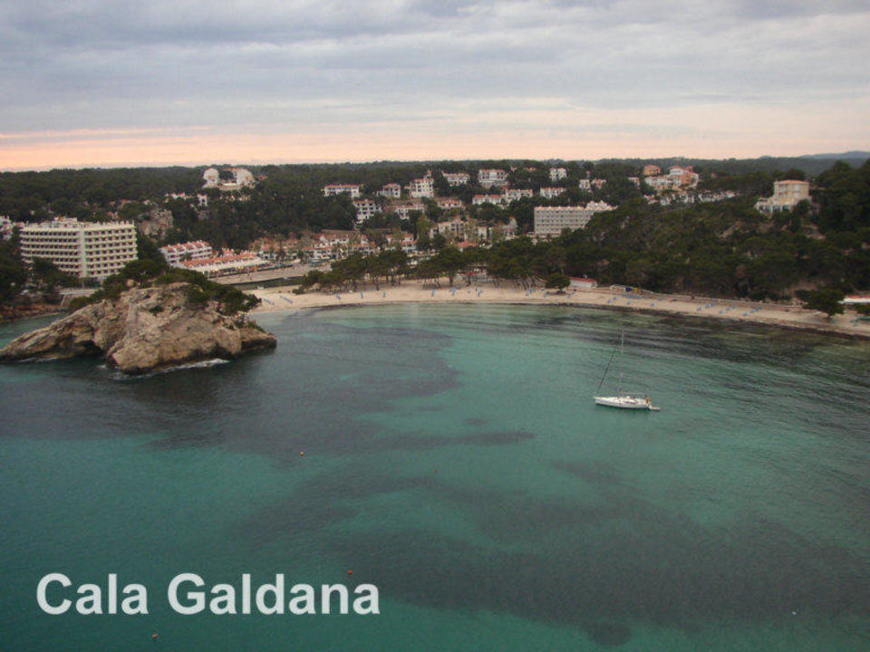Die Cala Galdana am Abend Hotel Artiem Audax Spa & Wellness Centre - Adults only