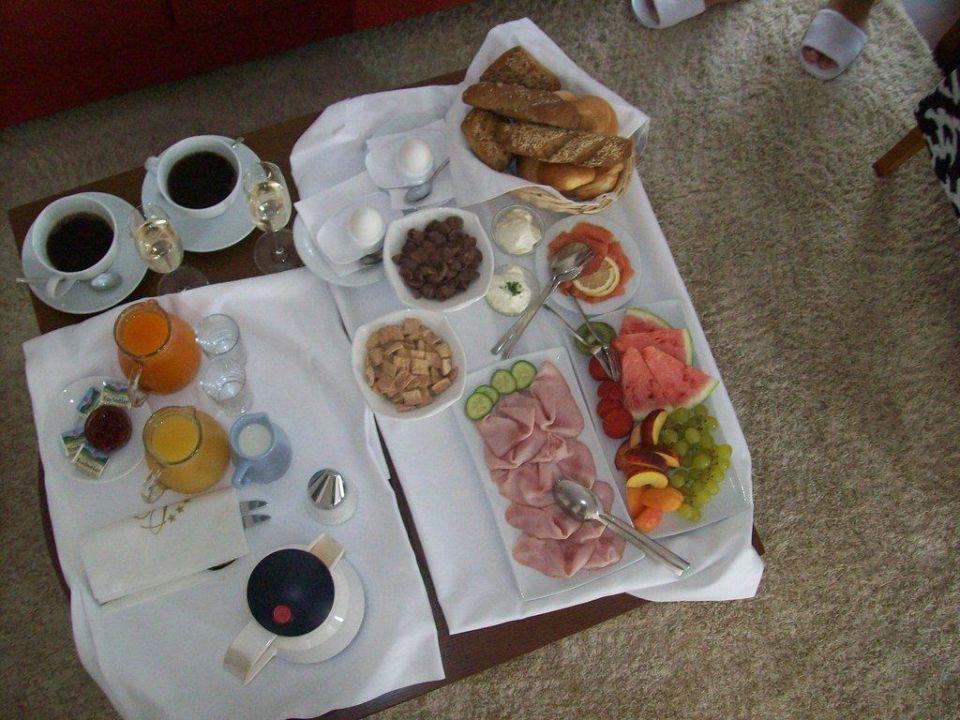 Frühstück am Zimmer Hotel Christkindlwirt