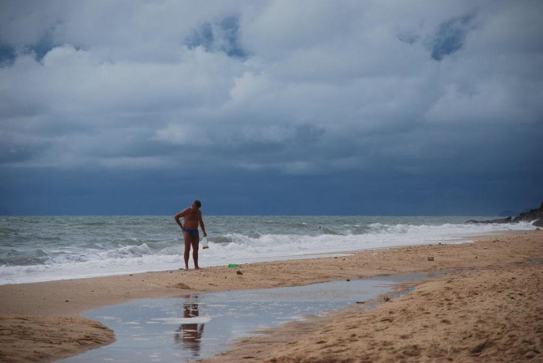 Nach dem Sturm  Hotel Lanta Sand Resort & Spa