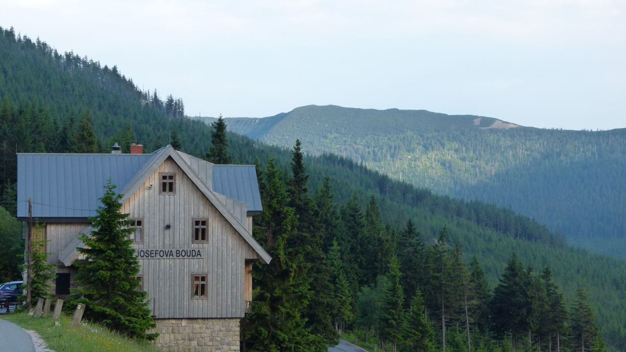 Außenansicht Resort Sv. František - Erlebachova Bouda