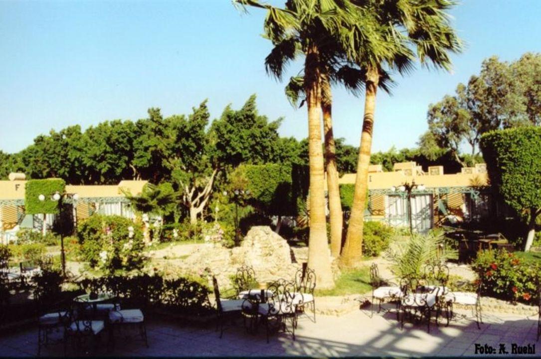 Hotel Giftun - Blick vom Haupthaus auf die Außenanlage Giftun Azur Resort