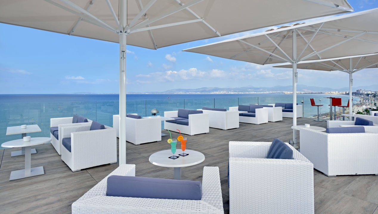 Quot Die Neue Dachterrasse Quot Hotel Hispania Platja De Palma