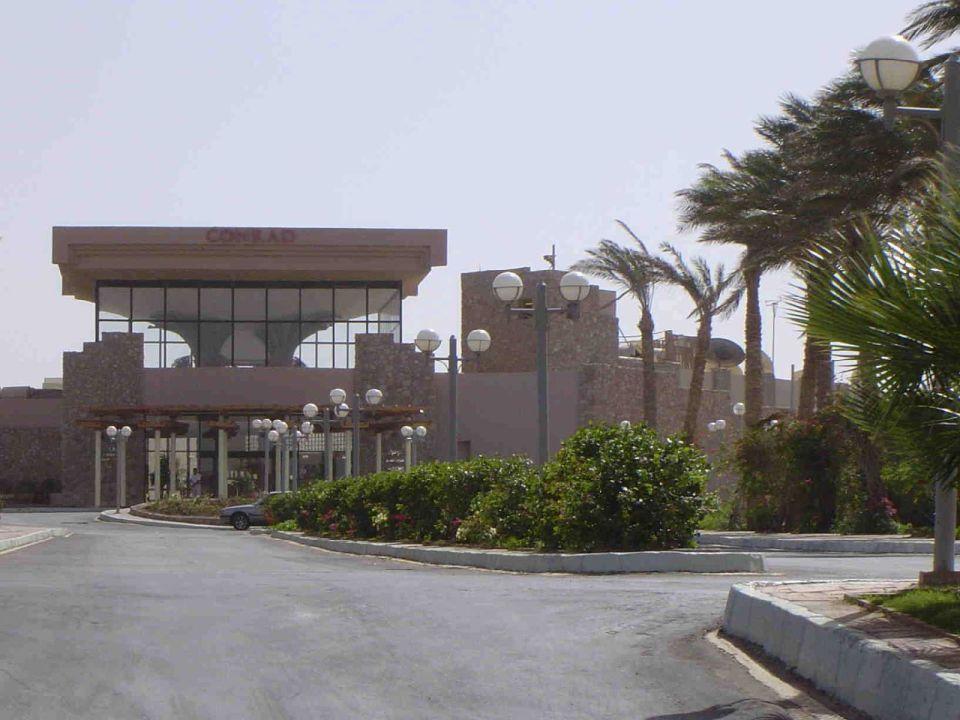Hotel Conrad Eingang TUI SENSATORI Resort Sharm el Sheikh