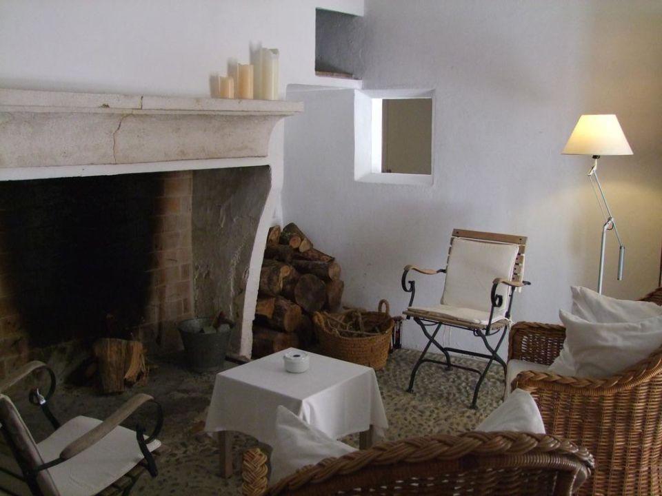 Das Kaminzimmer Refugio Son Pons