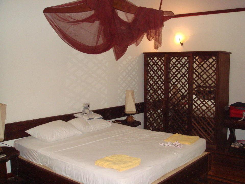 Vip Bungi Schlafzimmer VOI Maayafushi Resort