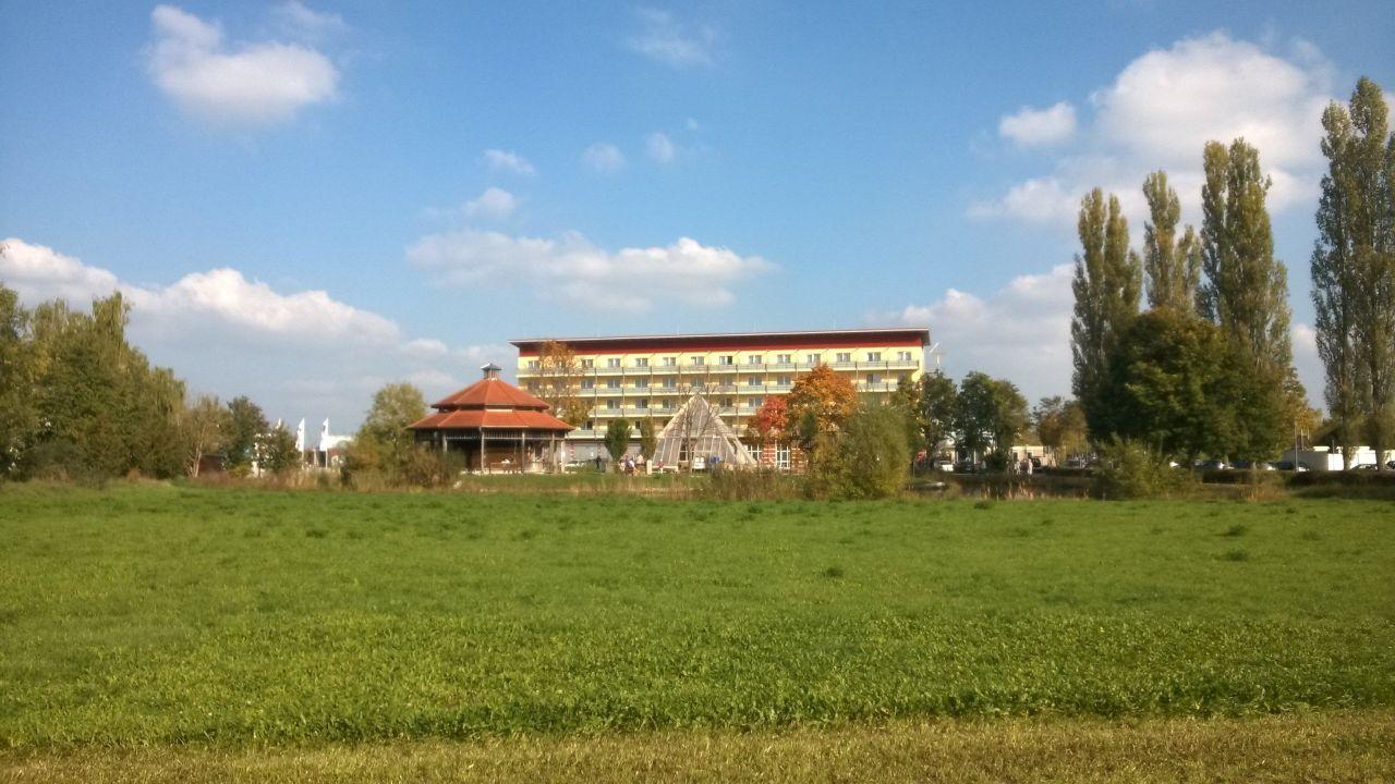 Quot Aus Dem Kurpark Quot Hotel Pyramide In Bad Windsheim