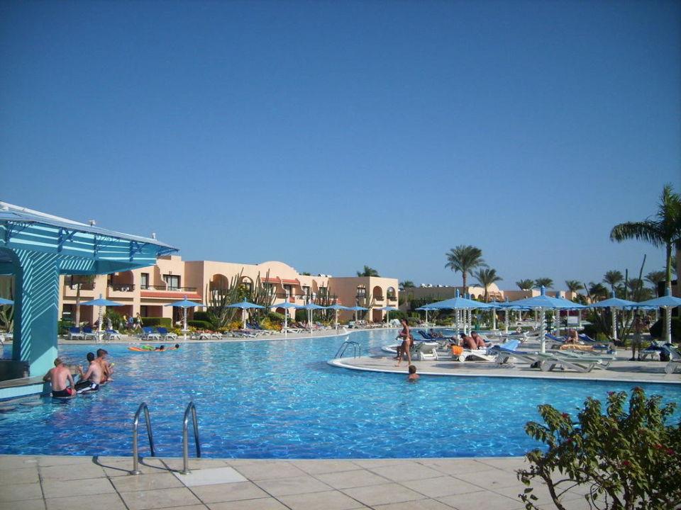 Paradies Poolanlage Hotel Ali Baba Palace
