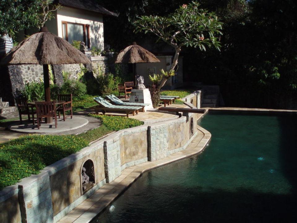 Poolbereich Pool 1 Hotel Beji Ubud Resort