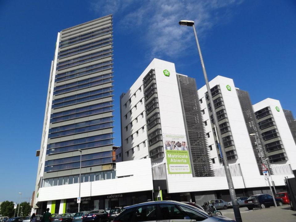 Gebäude von außen Residencia Melon District Marina