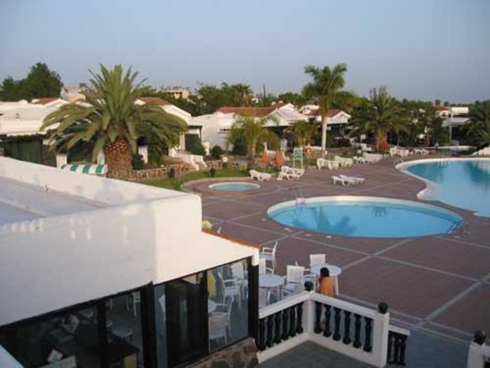 Die Poolanlags - das Highlight Hotel Maspalomas Lago