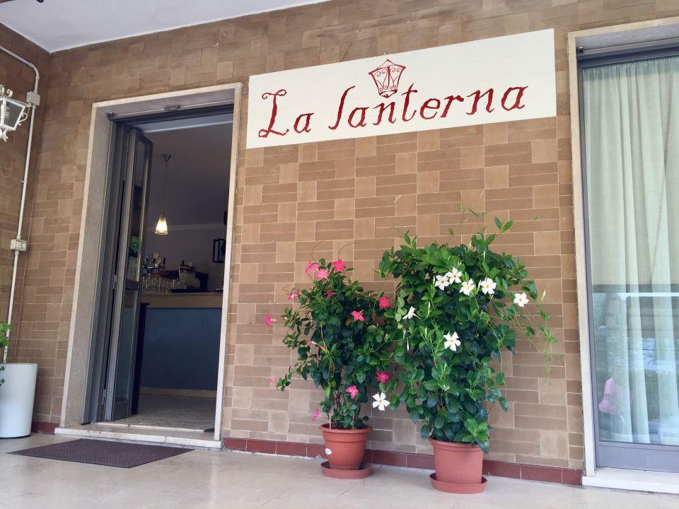 Außenansicht Hotel La Lanterna