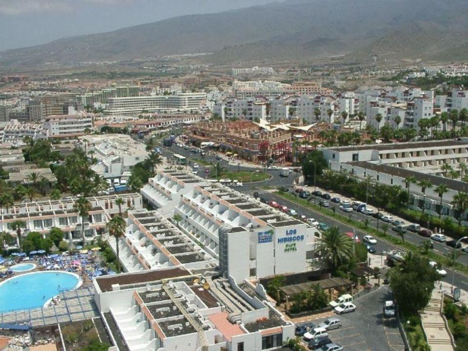 Hibiscos von oben 3 allsun Hotel Los Hibiscos