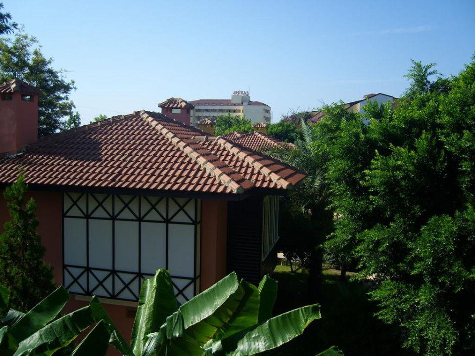 Ausblick aus unserem Zimmer im Haupthaus Hotel Club Dizalya