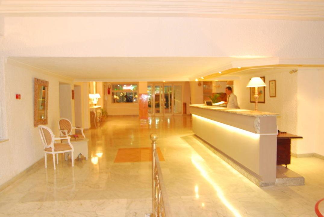 La reception Sousse City & Beach Hotel