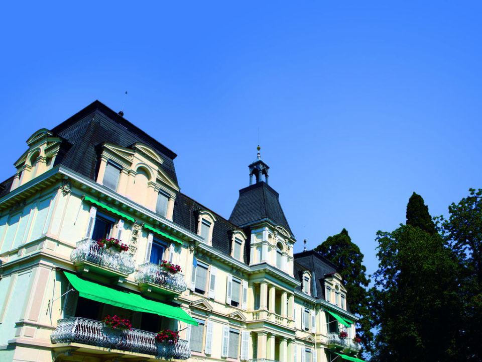 IBB Grandhotel Roemerbad, Aussenansicht Panacée Grand Hotel Römerbad