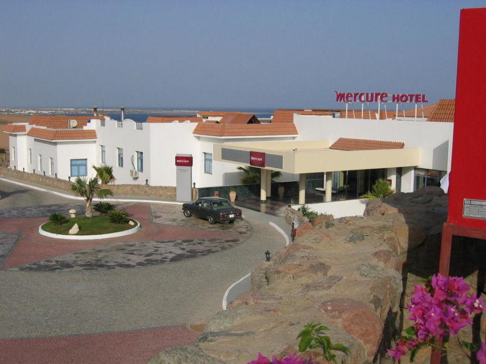 Eingangsbereich Ecotel Dahab Bay View Resort
