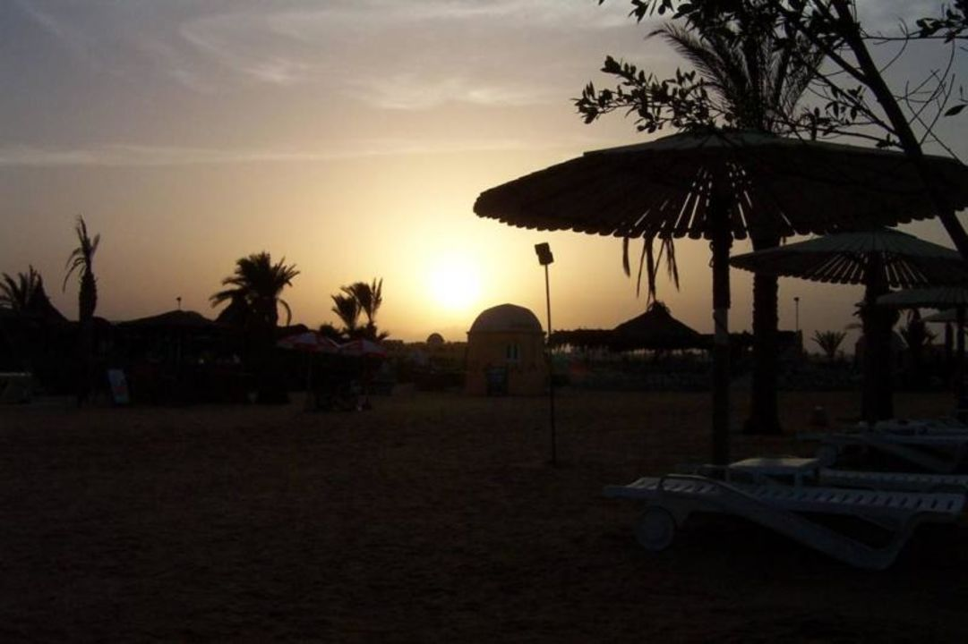 Sonnenuntergang am Strand - Hurghada Hotel Golden 5 Golden 5 The Club Hotel by Princess Egypt Hotels