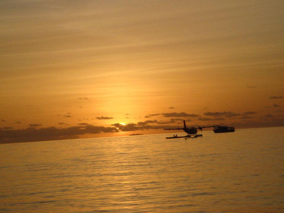 Sonnenuntergang VOI Maayafushi Resort
