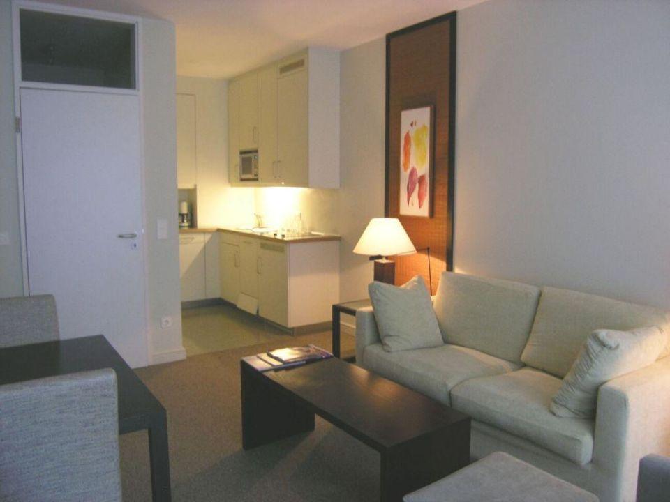 Maisonettesuite / Wohnzimmer m. Küche Clipper City Home