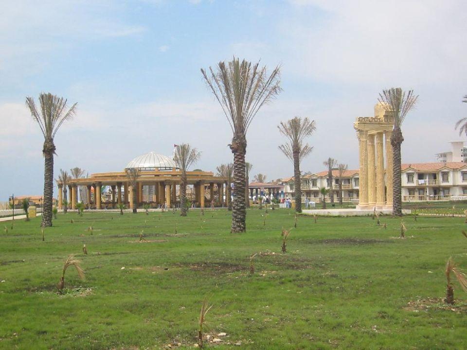 Gartenanlage, am Strand Hotel Cesars Temple DeLuxe Belek