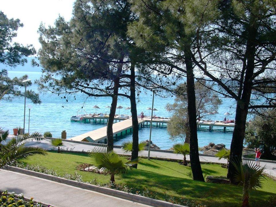 Blick auf den Steg (Strandbereich) Rixos Premium Bodrum