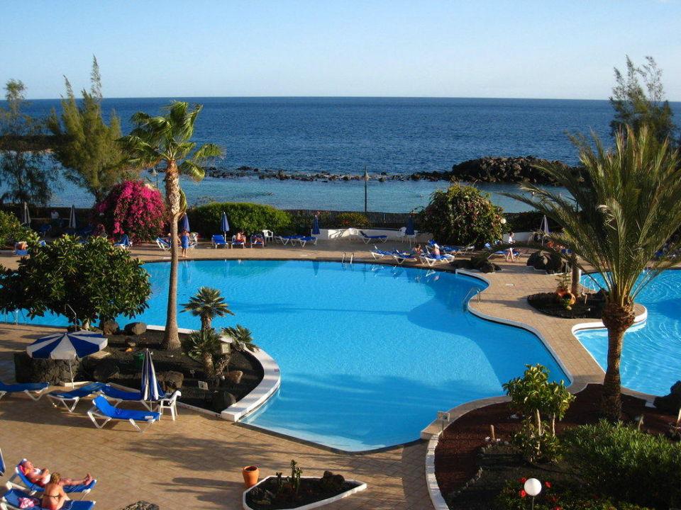 Blick aus dem Zimmer Hotel Grand Teguise Playa
