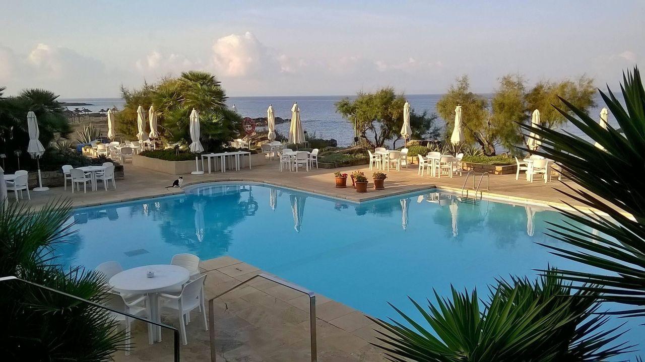 Ansicht Richtung Westen  Hotel Tres Playas