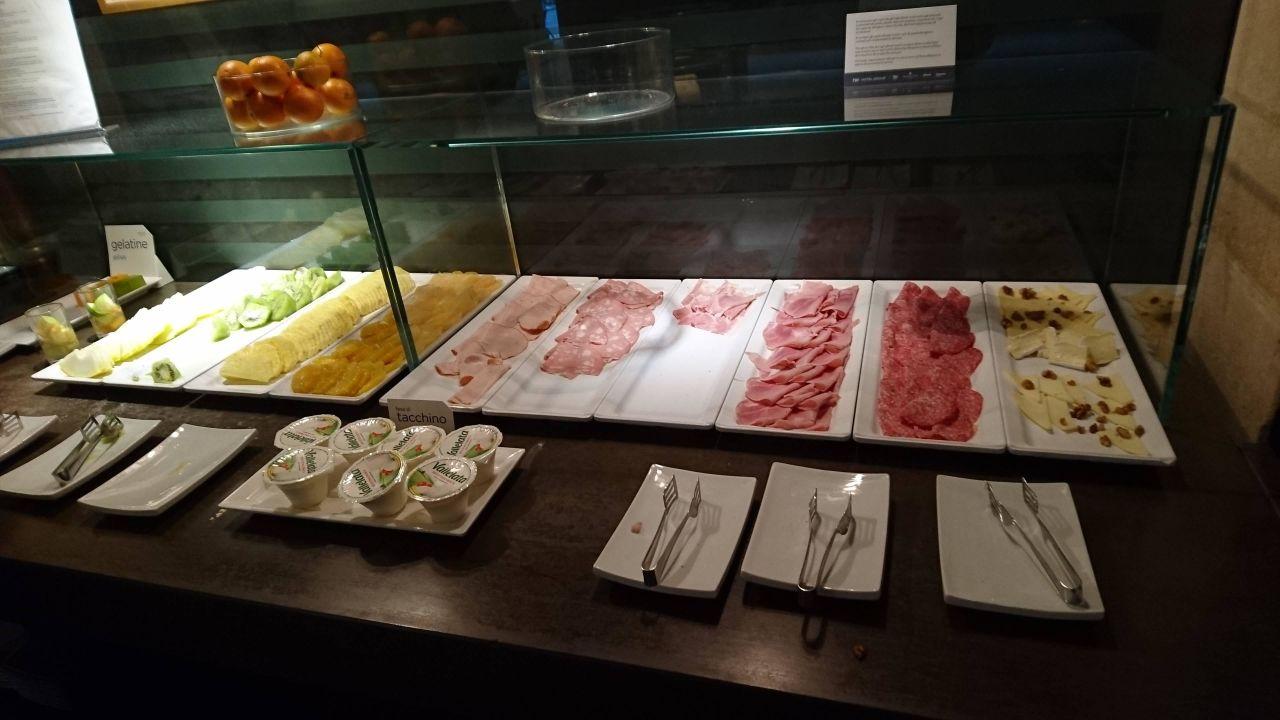 Frühstücksbuffet NH Collection Roma Centro