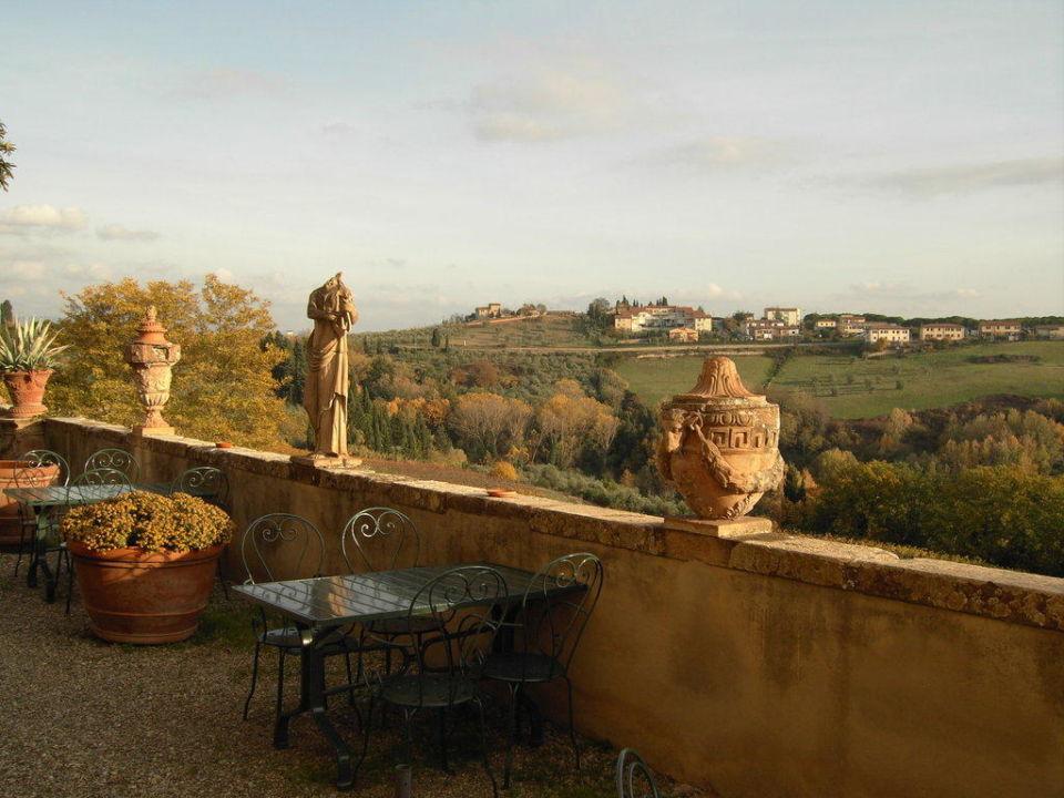 Terrasse Villa Spoiano