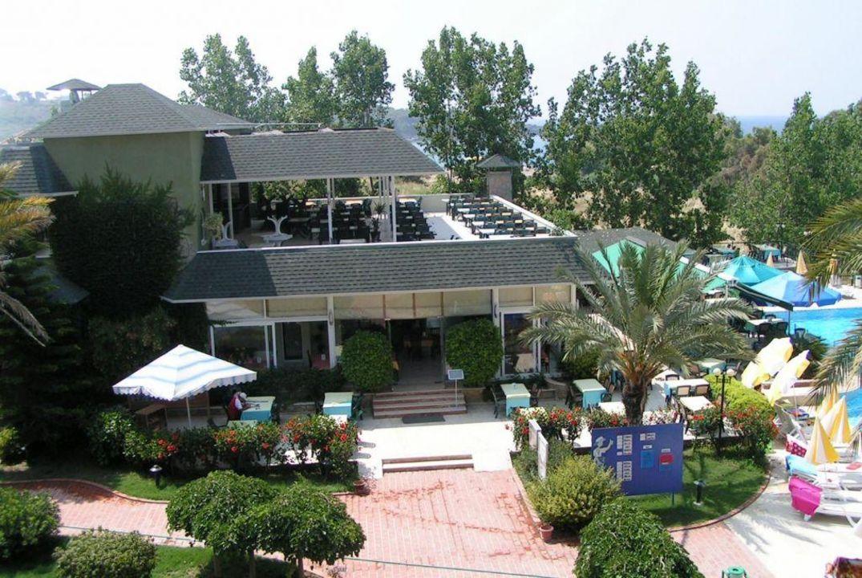 Aussenaufnahme des Restaurant Hotel Gardenia Beach