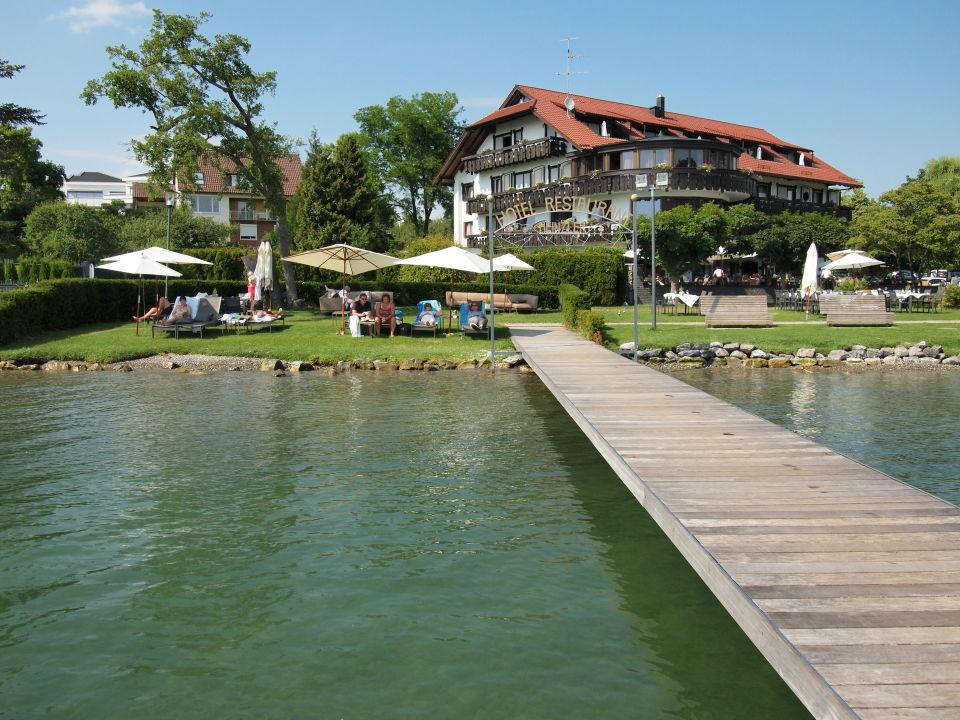 Außenansicht Hotel Heinzler am See