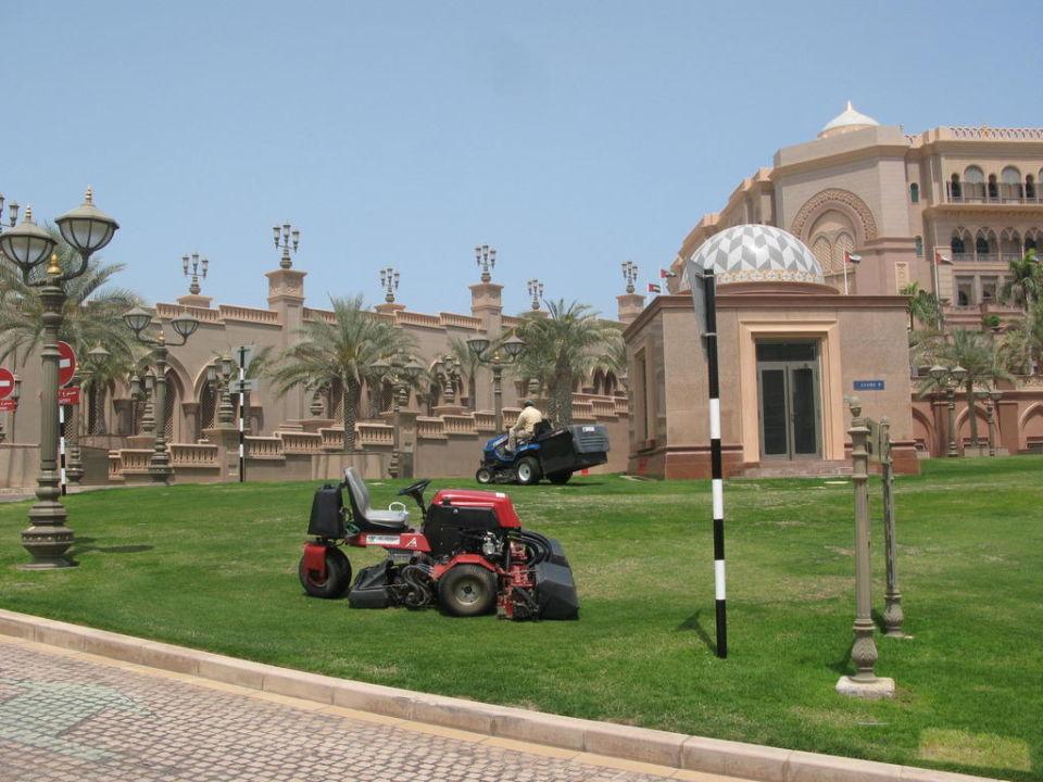Rasenpflege Emirates Palace Hotel