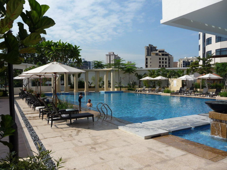 Pool bei Tag Park Hotel Clarke Quay