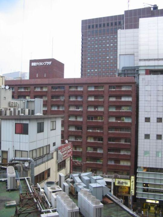 View from our room ibis Hotel Tokyo Shinjuku